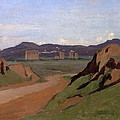 Aqueduct by Jean-Baptiste-Camille Corot