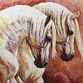 Arab Horses by Silvana Gabudean Dobre