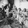 Arab Men At Leisure by Underwood Archives