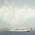 Arabella On Newport Harbor by Karen Lynch
