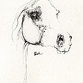 Arabian Horse Sketch 2014 05 24 by Angel Ciesniarska
