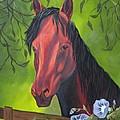 Arabian Horse by Terri Mills
