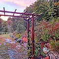 Arbor And Fall Colors 2 by Duane McCullough