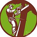 Arborist Tree Surgeon Trimmer Pruner by Aloysius Patrimonio