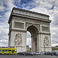 Arc De Triomph - Paris by Kim Andelkovic