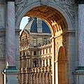 Arc De Triomphe Du Carrousel by Brian Jannsen