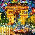 Arc De Triomphe by Leonid Afremov
