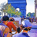 Arc De Triomphe Painter by Chuck Staley
