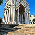 arc of triumph in Piazza Della Vittoria - Genova by Antonio Scarpi