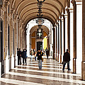Arcades Of Lisbon by Jose Elias - Sofia Pereira