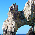Arch At Land's End by Shane Bechler
