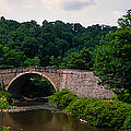 Arch Bridge Across Casselman River by Panoramic Images