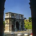 Arch Of Constantine by Bob Phillips