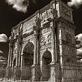 Arch Of Constantine by Michael Kirk