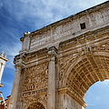 Arch Of Septimius Severus by Joan Carroll
