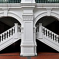 Arch Staircase Balustrade And Columns by Imran Ahmed