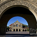 Arch To Memorial Church Stanford California by Jason O Watson