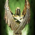 Archangel Azrael by Bill Tiepelman
