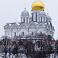 Archangel Cathedral Of Moscow Kremlin - Featured 3 by Alexander Senin