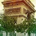 Arche De Triomphe Mood by Carol Groenen