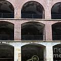 Arched Brick Portals Fort Point San Francisco by Jason O Watson