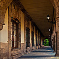 Arched Corridor by Gary Keesler