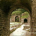 Arched Entrance To Fiesole Theatre by Bob Phillips