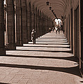 Arched Walk Way       by J L Woody Wooden