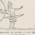Archers Practise At Butts by Mary Evans Picture Library