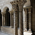 Arches And Columns - Cloister Nyc by Christiane Schulze Art And Photography