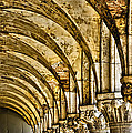 Arches At St Marks - Venice by Jon Berghoff