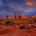 Arches Last Light by Greg Norrell