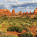 Arches National Park Panorama by Dave Mills