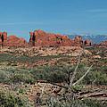 Arches North Window Rock by Daniel Hebard