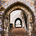 Arches Of Valentre Bridge In Cahors France by Elena Elisseeva