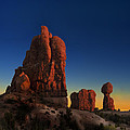 Arches After Sunset by Gary Warnimont