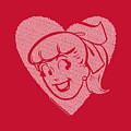 Archie Comics - Betty Hearts by Brand A