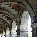 Architectural Artwork At Place De Vosges by Richard Rosenshein