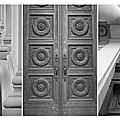 Architectural Triptych by Patricia Strand