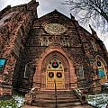 Architecture And Places In The Q.c. Series 01 Trinity Episcopal Church by Michael Frank Jr