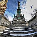 Architecture And Places In The Q.c. Series  Soldiers And Sailors Monument In Lafayette Square by Michael Frank Jr
