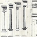 Architecture I Orders Of Architecture Engraved By Charles Lawrie by  John Burley Waring