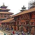 Architecture Of Patan Durbar Square In Lalitpur-nepal by Ruth Hager