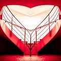 architecture's valentine - redI by Hannes Cmarits