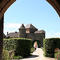 Archway Chateau Of Berze by Christiane Schulze Art And Photography