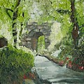 Archway In Central Park by Laurie Morgan