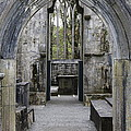 Archway Muckross Abbey by Christiane Schulze Art And Photography