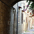 Archway Rhodos City by Christiane Schulze Art And Photography