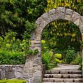 Archway To The Secret Garden by Jordan Blackstone