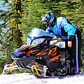 Arctic Cat Snowmobile by Tap On Photo